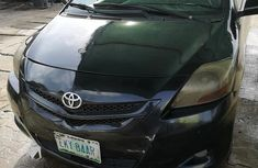 Toyota Yaris 2007 Sedan Black for sale