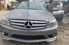 Mercedes-Benz C300 2009 Gray color for sale