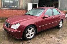 Mercedes-Benz C240 2005 Red for sale