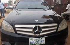Mercedes-Benz C300 2008 Black color for sale