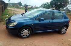 Peugeot 307 2002 Blue for sale
