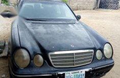 Mercedes-Benz E220 2002 Black for sale