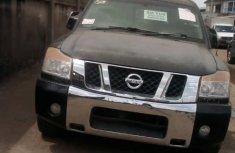 Nissan Titan 2005 Crew Cab Black color for sale