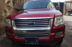 Ford Explorer 2008 Red for sale