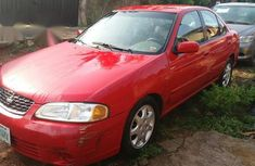 Nissan Sentra 2002 Red for sale