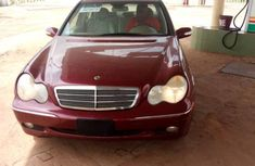 Mercedes-Benz C240 2003 Red for sale