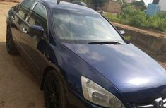 Honda Accord Automatic 2003 Blue for sale