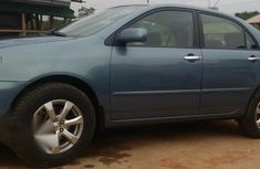 Buy and drive Toyota Corolla 2002 Gray color for sale