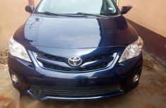 Solid and reliable Toyota Corolla 2011 Blue for sale