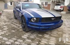 Ford Mustang 2007 Coupe Blue for sale