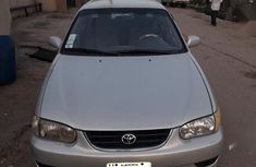 Nigerian used Toyota Corolla 2001 Sedan Silver color for sale
