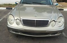 Mercedes-Benz E500 2006 Silver for sale