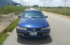 Neatly used Peugeot 406 2004 Blue for sale