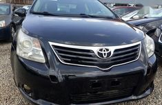 Toyota Avensis 2010 2.0 Advanced Automatic Black for sale