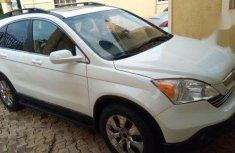 Extremly Clean Honda CR-V 2009 White for sale