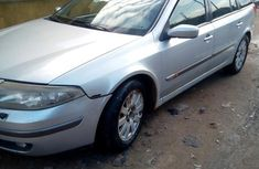 Very neat Renault Laguna 2002 Gray for sale