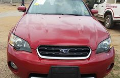 Subaru Outback 2006 3.0 R Red  color for sale