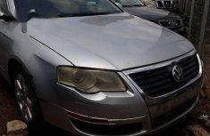 Leather interior Volkswagen Passat 2006 Silver for sale