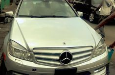 Mercedes-Benz C350 2009 Silver for sale