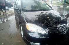 Toyota Corolla 2004 1.4 D Automatic Black for sale