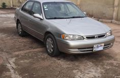 Toyota Corolla 2002 Gold color for sale with no fault
