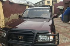 Toyota Land Cruiser 1999 Red for sale