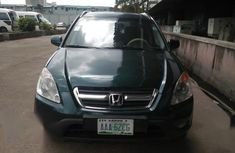 Honda CR-V 2002 EX 4WD Automatic Green color for sale
