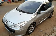 Peugeot 307 2005 Gray for sale
