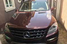 Mercedes-Benz ML350 2015 Red for sale
