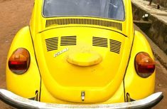 Volkswagen Beetle 1982 Yellow for sale