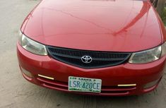 Very neat accident free Toyota Solara 2003 Red for sale