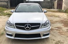 Mercedes-Benz C350 2010 Silver for sale in very good condition