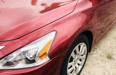 Nissan Altima 2015 Red for sale