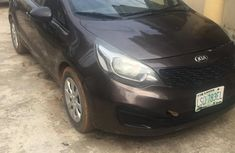 Brand new nothing to fix Kia Rio 2012 Brown color for sale
