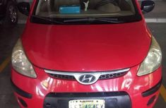 Hyundai i10 2008 Red for sale