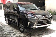 Lexus LX 2018 Black for sale