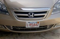 Honda Odyssey 2006 LX Goldfor sale