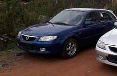 Mazda 323 2002 1.6 Blue for sale