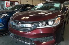 Honda Accord 2016 Red for sale