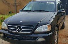 Mercedes-Benz ML320 2002 Blackfor sale