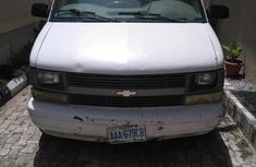 Chevrolet Astro 2002 4.3 Van White for sale