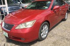 Lexus ES 350 2009 Red for sale