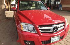 Mercedes-Benz GLK-Class 2012 Red for sale
