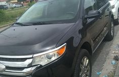 Fast fuel economy Ford Edge 2008 Black color for sale