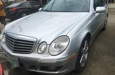 Sell silver 2008 Mercedes-Benz E350 automatic in Lagos
