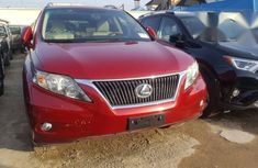 Lexus RX 2010 350 Red for sale