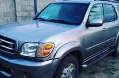 Toyota Sequoia 2001 Silver for sale