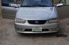 Toyota Corolla 2001 Silver for sale