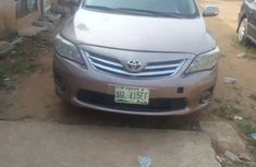 Toyota Corolla 2012 Goldfor sale