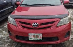 Toyota Corolla 2012 Red for sale